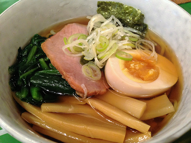 醤油or塩ラーメン